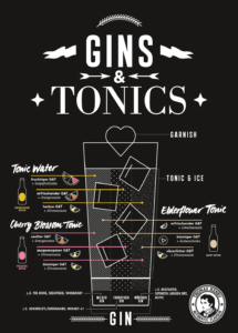 gin tonics mix match