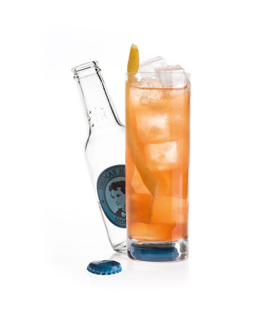 Der Gansevoort Fizz mit Thomas Henry Soda Water