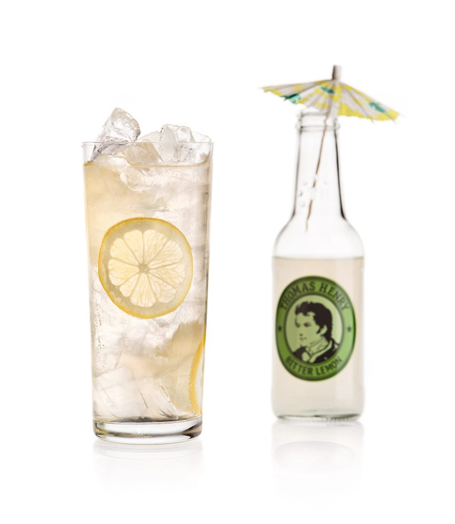 Der Gin Lemon mit Thomas Henry Bitter Lemon