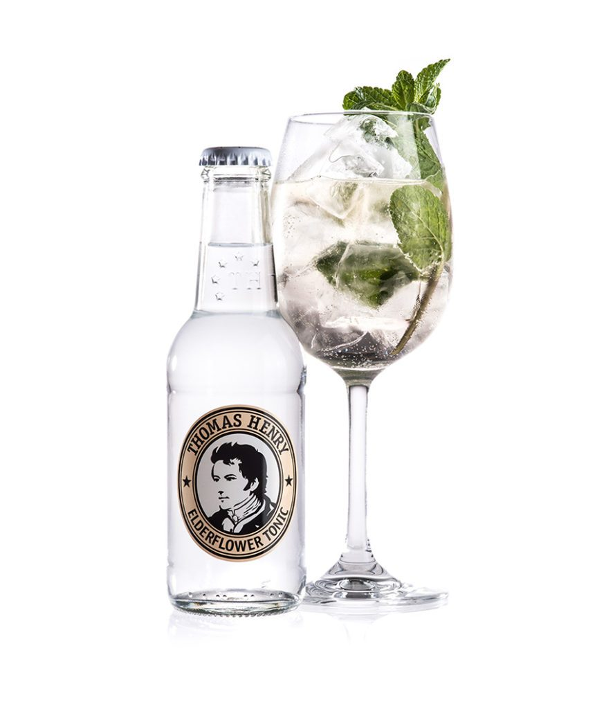 Der The Henry mit Thomas Henry Elderflower Tonic