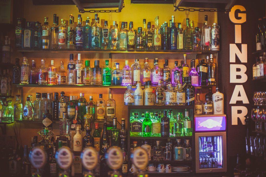 Einblick in die Bar Das Torberg in Wien