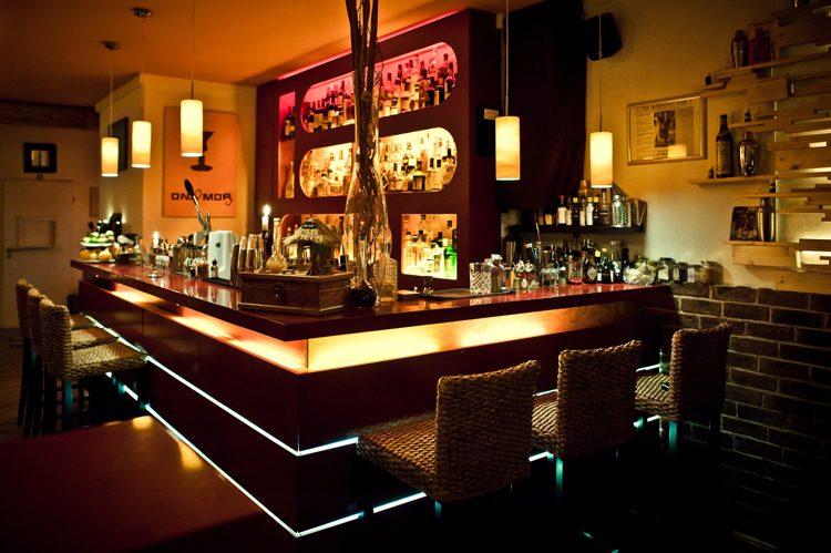 Einblick in die Bar Ona Mor in Köln