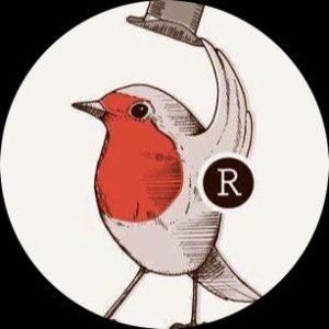 Das Logo der Bar Rotkehlchen in Münster