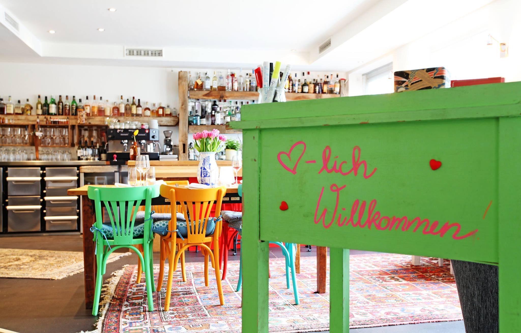 Einblick in die Bar Rotkehlchen in Münster