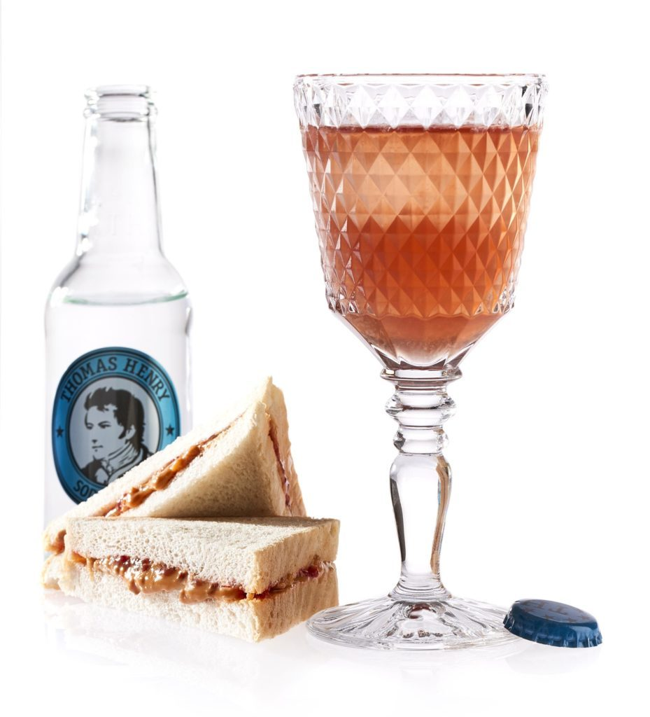Der PB&J mit Thomas Henry Soda Water