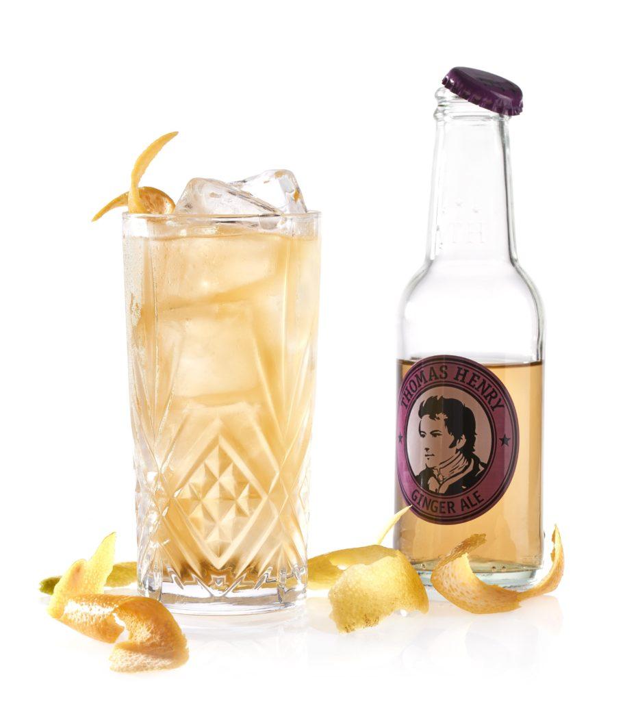 Der Golden Amber mit Thomas Henry Ginger Ale