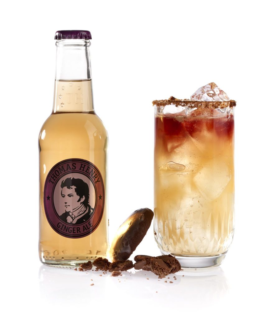 Der New York Fizz mit Thomas Henry Ginger Ale