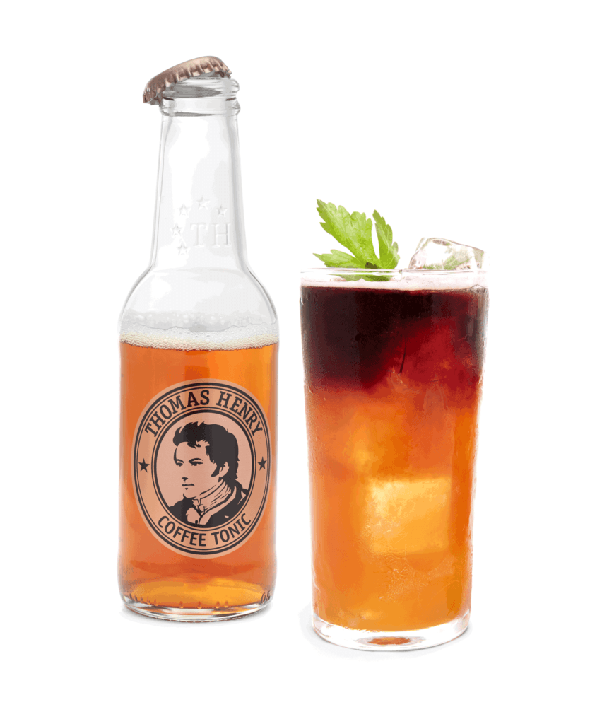 Der Tropical Cyclone mit Thomas Henry Coffee Tonic
