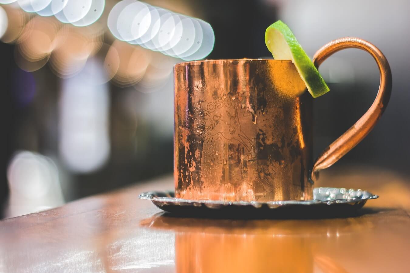 Mood-Setting des Wheel of Spirits zum Thema Vodka & Korn