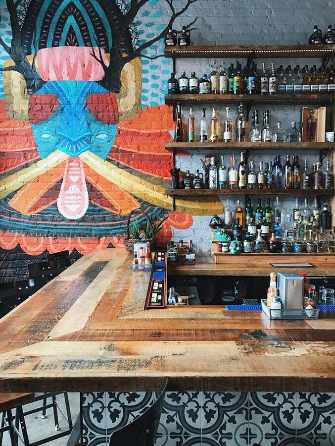 Mood-Setting des Wheel of Spirits zum Thema Tequila
