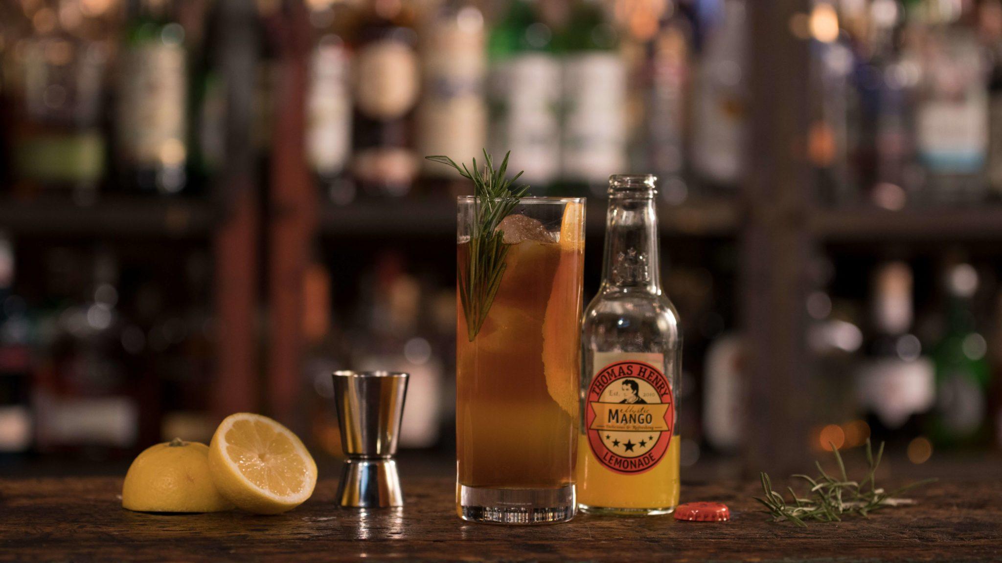 Der Drink Fräulein Elster mit Thomas Henry Mystic Mango