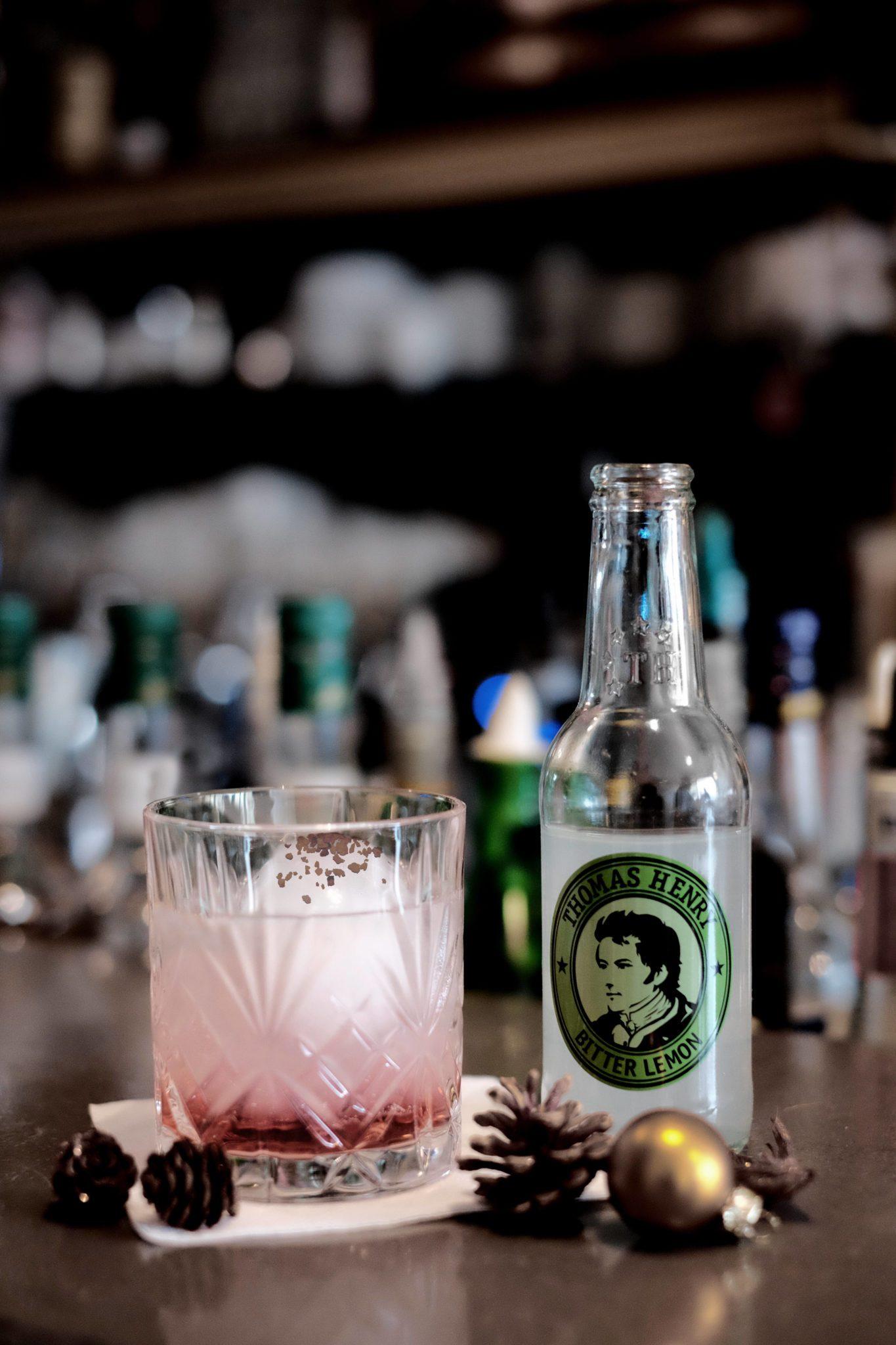 Der Drink On Winter mit Thomas Henry Bitter Lemon