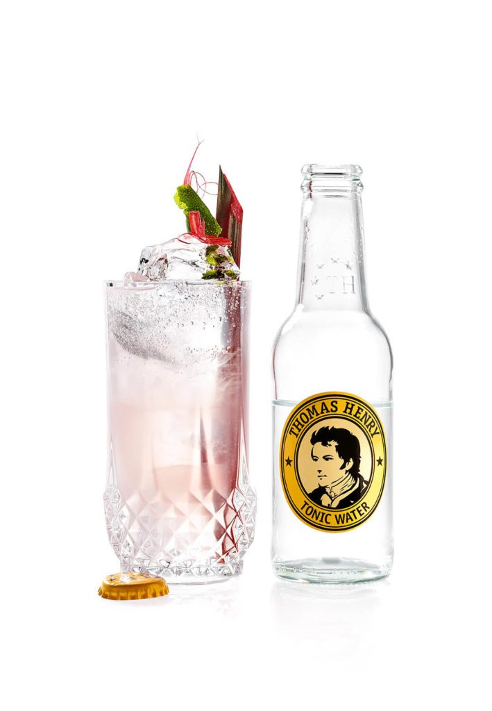 Der Rhubarb Wonder mit Thomas Henry Tonic Water