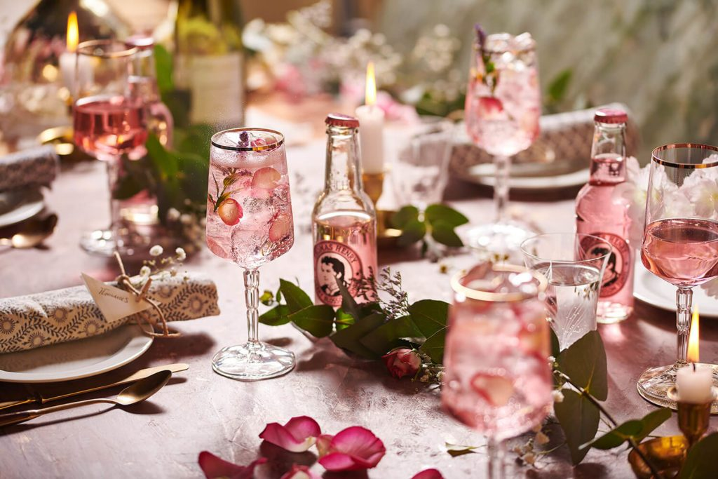 April Hochzeitsdrink Pinke Schorle 2 Cherry Blossom Tonic Set 2 2