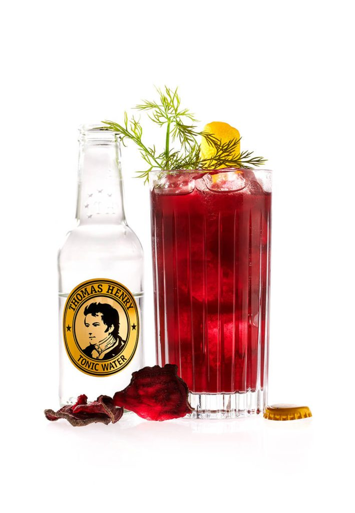 Der Red Dillan mit Thomas Henry Tonic Water