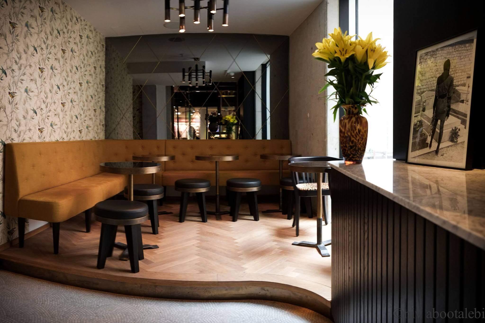 Das Interieur der Bar Cole & Porter in München