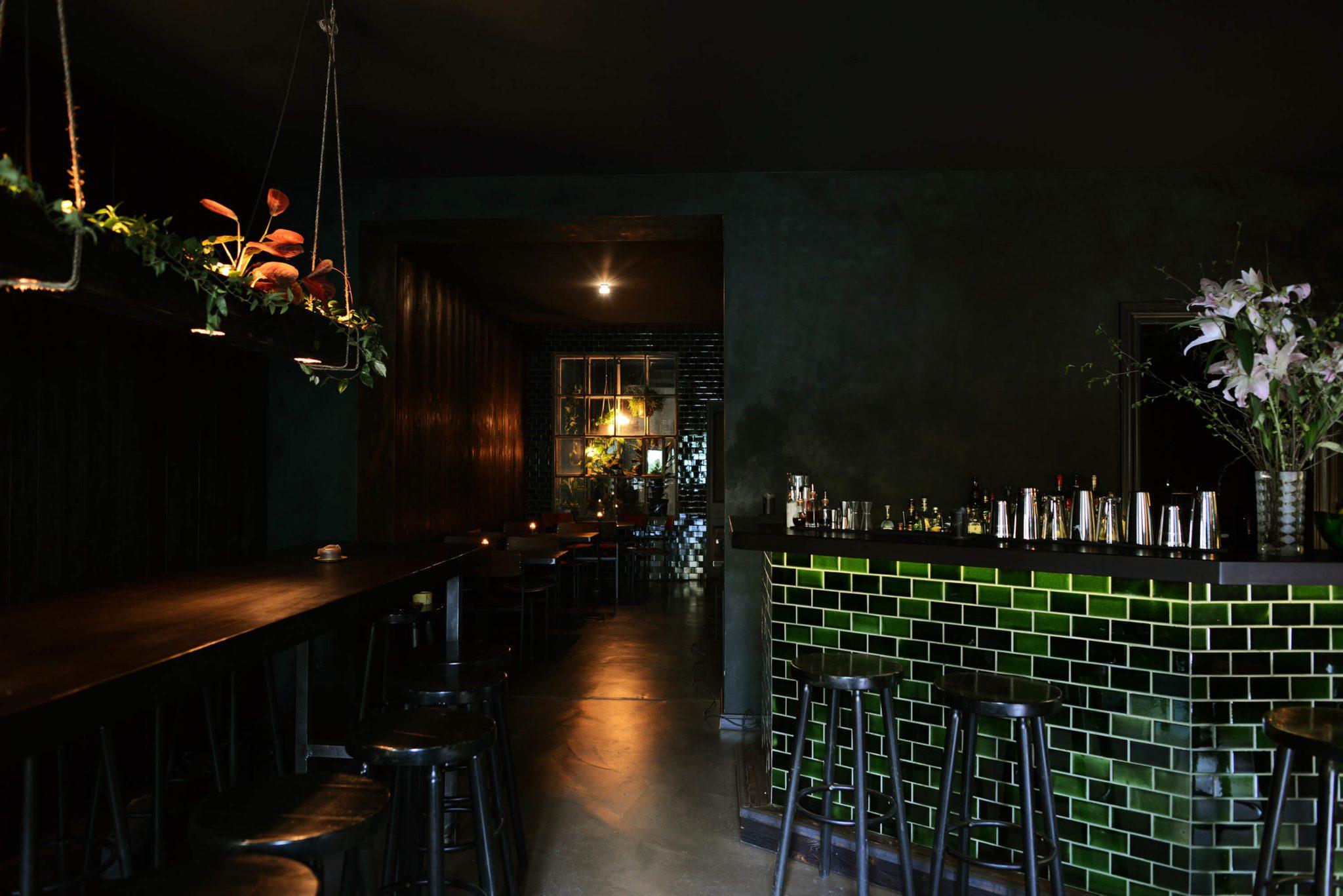 Blick in die Basalt Bar in Berlin