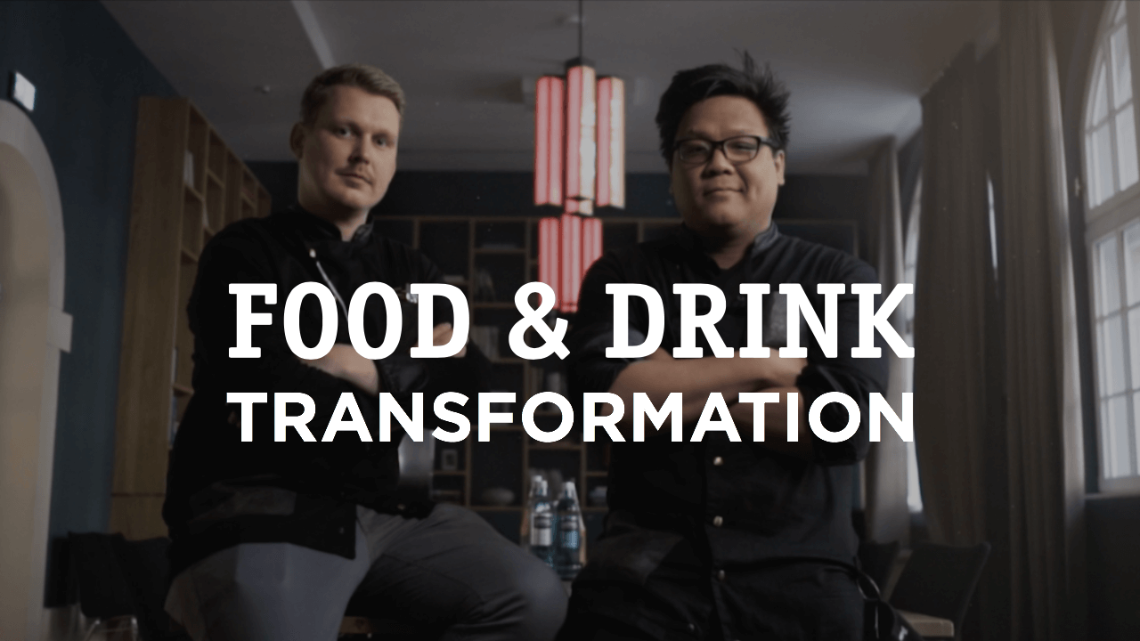 Das Cover der Food & Drink Transformation