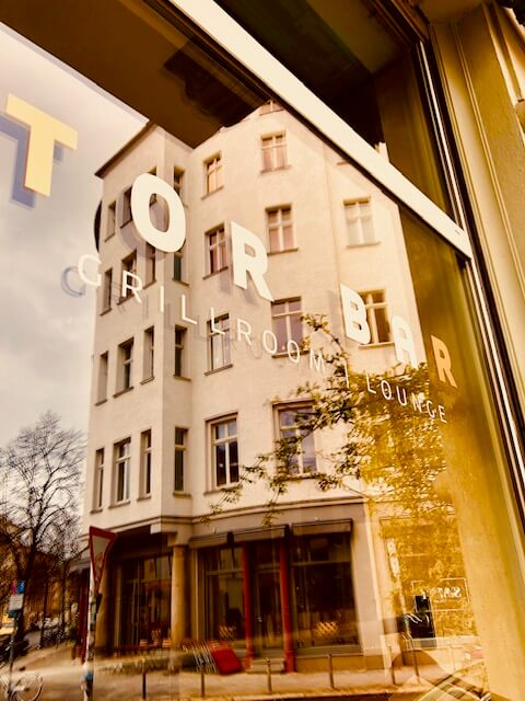Die Torbar in Berlin von Außen
