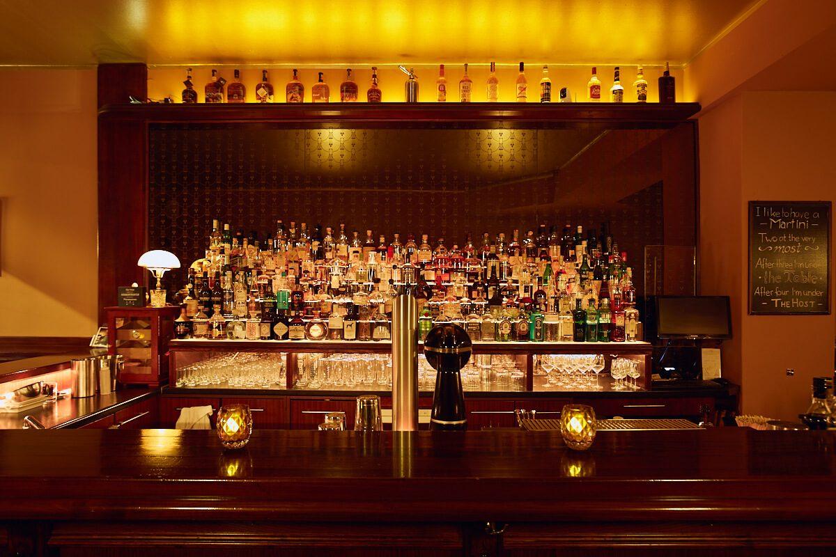 Die Bar im Galander Kreuzberg in Berlin