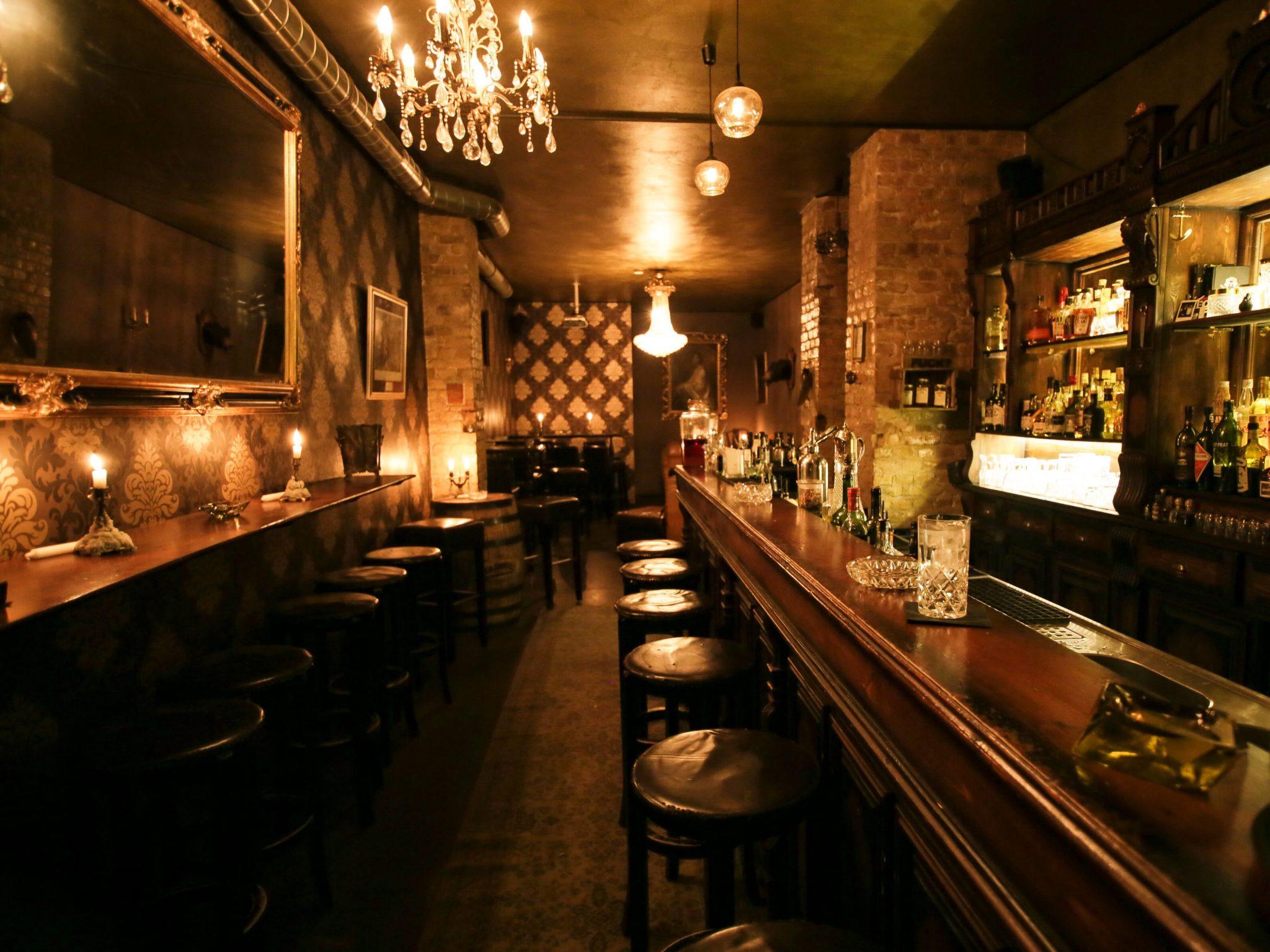 Blick in die Bar Perro Loco in Berlin