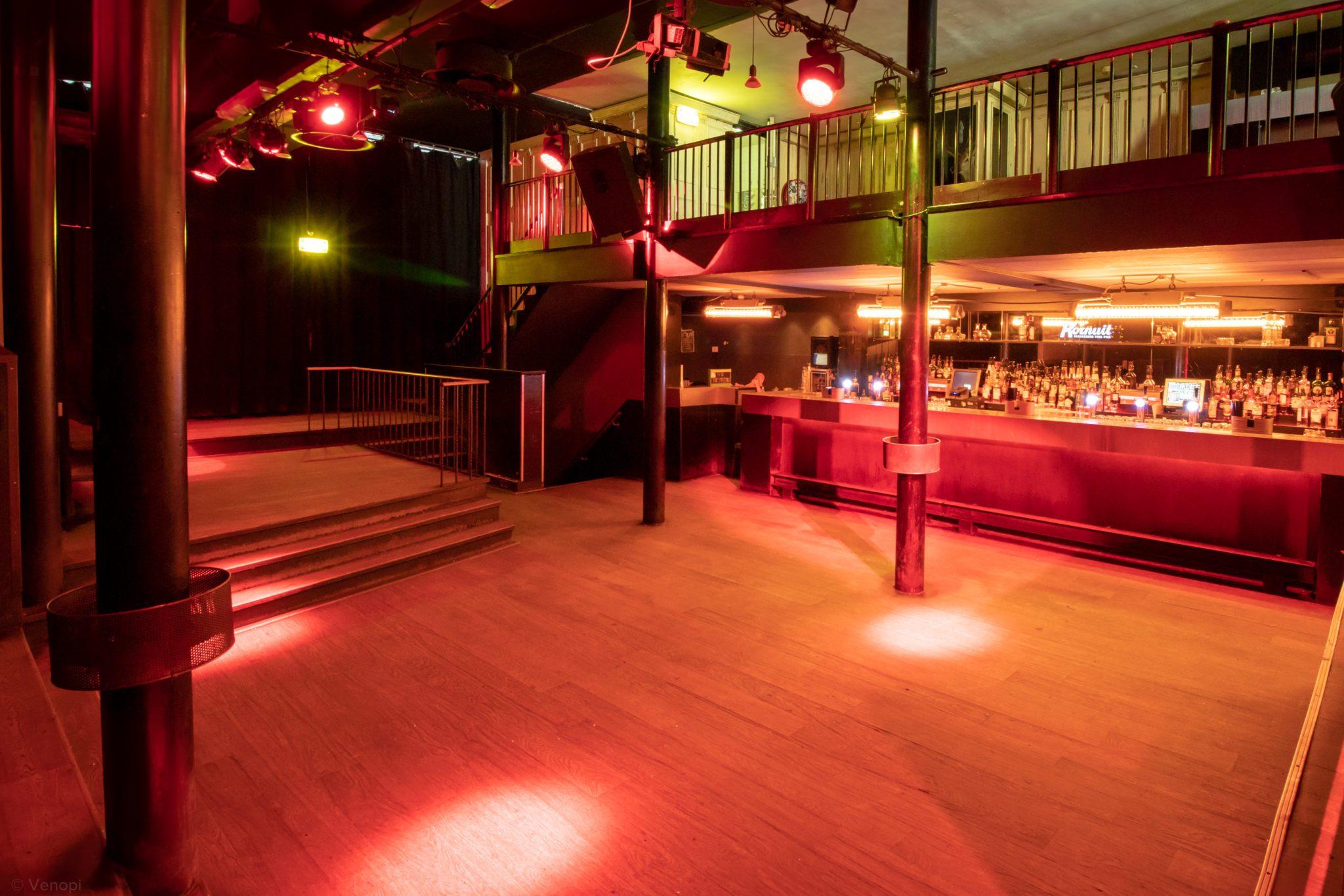 Die Tanzfläche im Bitterzoet in Amsterdam