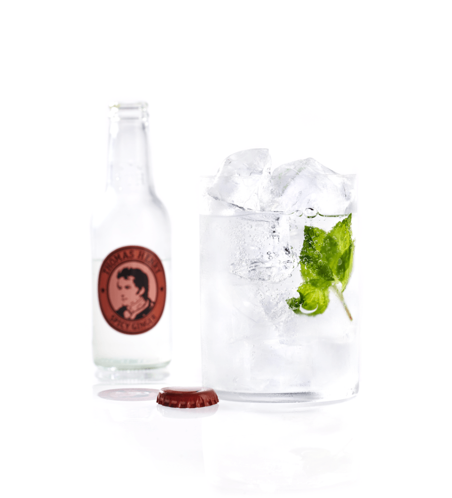 Der Cocktail Klassiker Mint Moscow Mule mit Thomas Henry Spicy Ginger