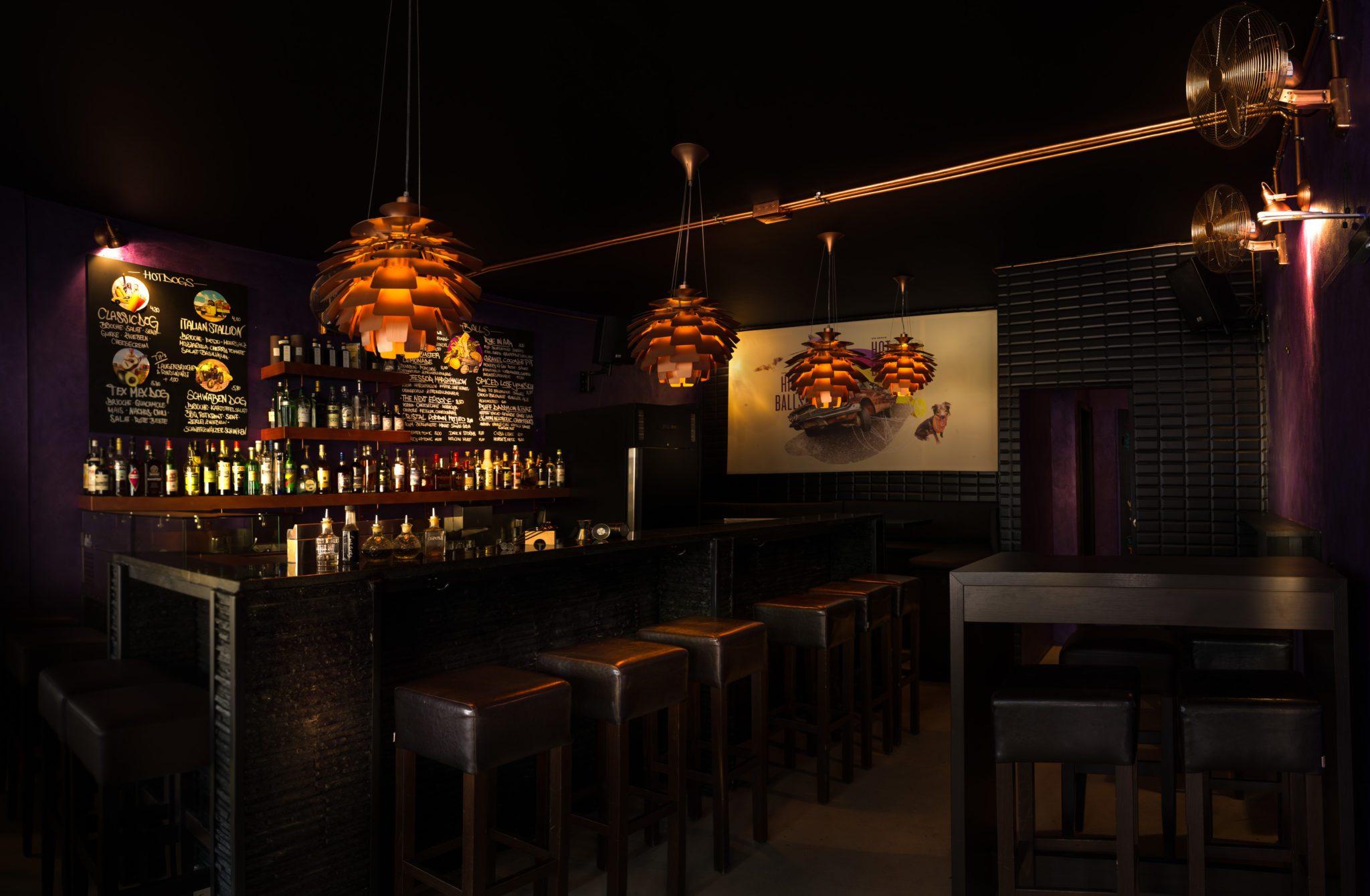 Blick in die Purple Room Bar