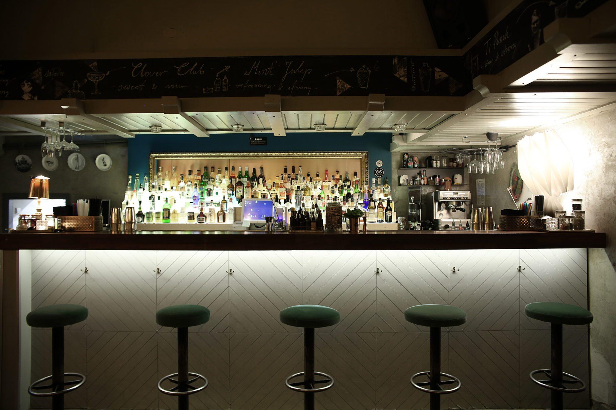 Ein Blick in die Bar Flisak '76