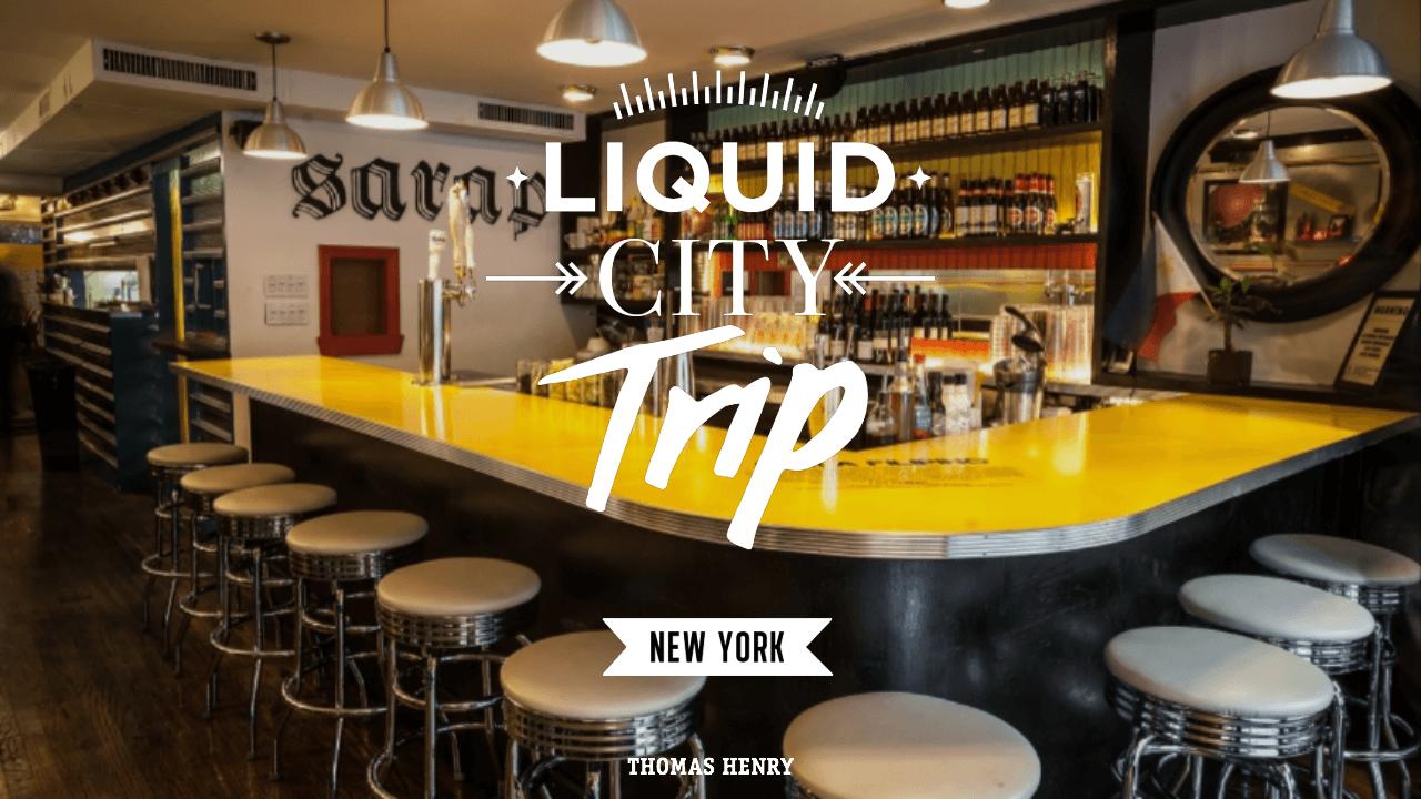 Titelbild Liquid City Trip NYC in der Jeepney Bar