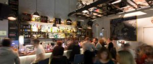 Ein Blick in die Spoiled Bar