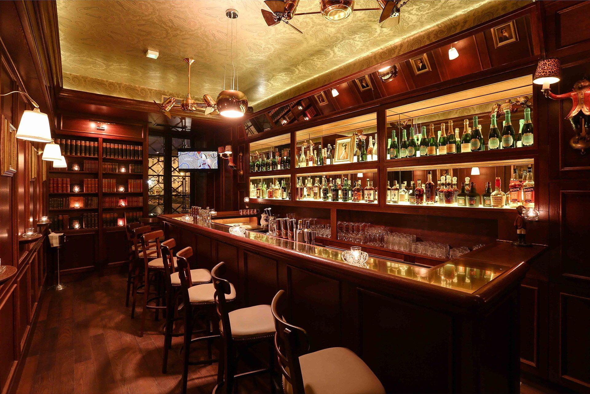 Ein Blick in das Bar & Books