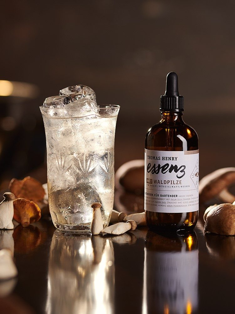 moodbild drink mushroom highball gemixt mit thomas henry essenz waldpilz kopie