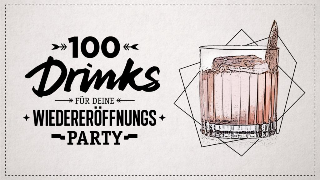 Helping Hands: 100 Drinks für die Wiedereröffnung