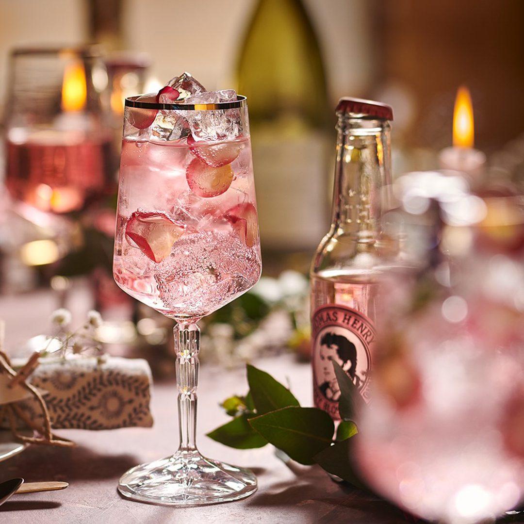 Pink Spritz mit Garnitur-Variation