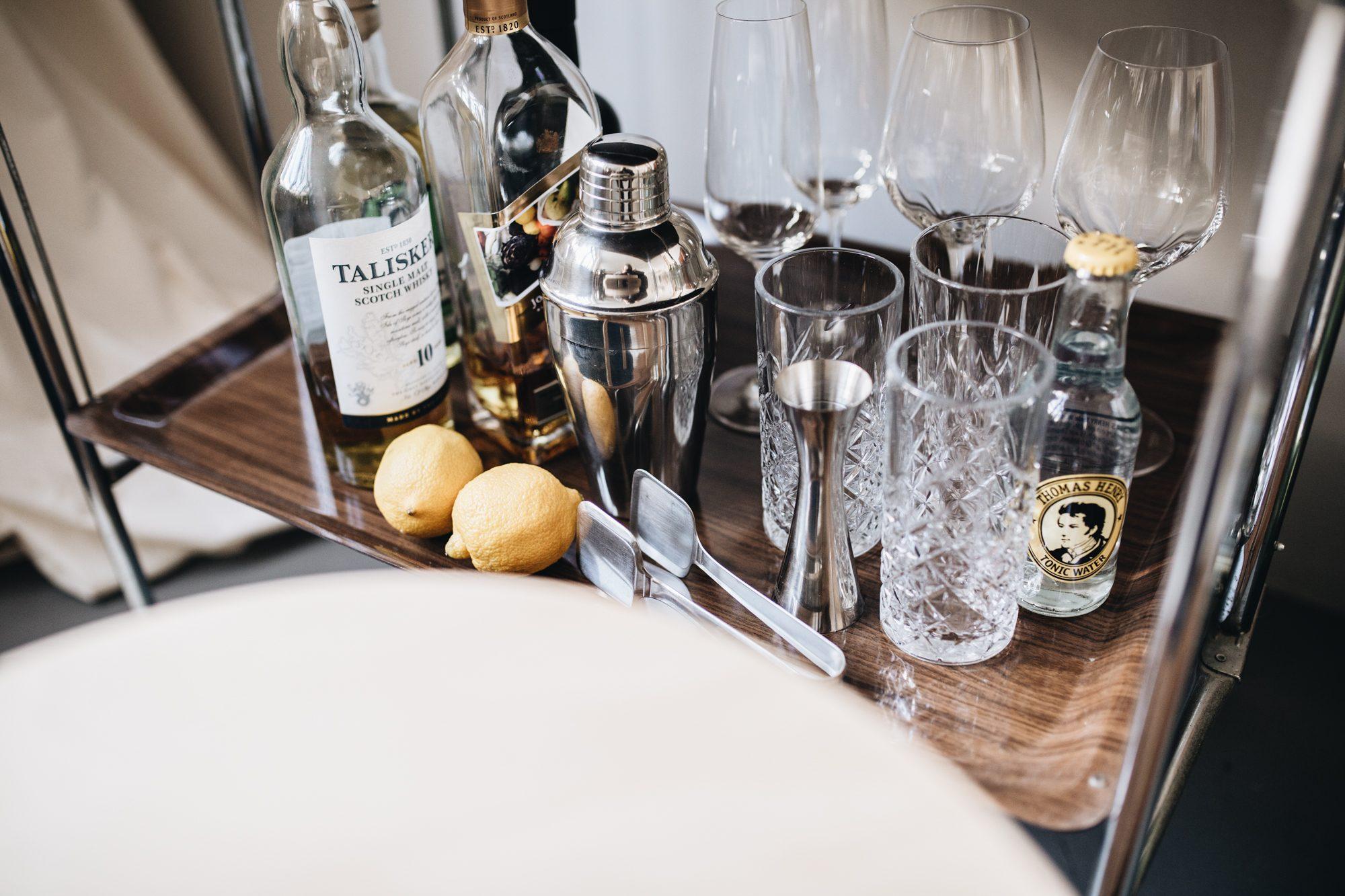 Hausbar Drinks Tools Techniken
