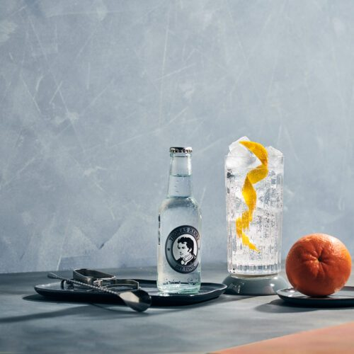 dry gin tonic with thomas henry dry tonic