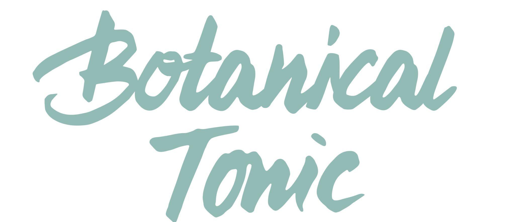 botanical tonic schriftzug 2